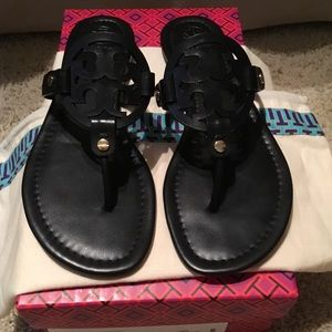 Tory Burch Black Miller Sandal